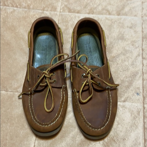 Sperry Shoes   Brown Leather Topsiders